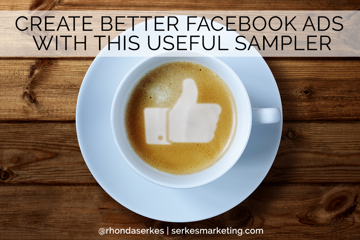 create better facebook ads sampler