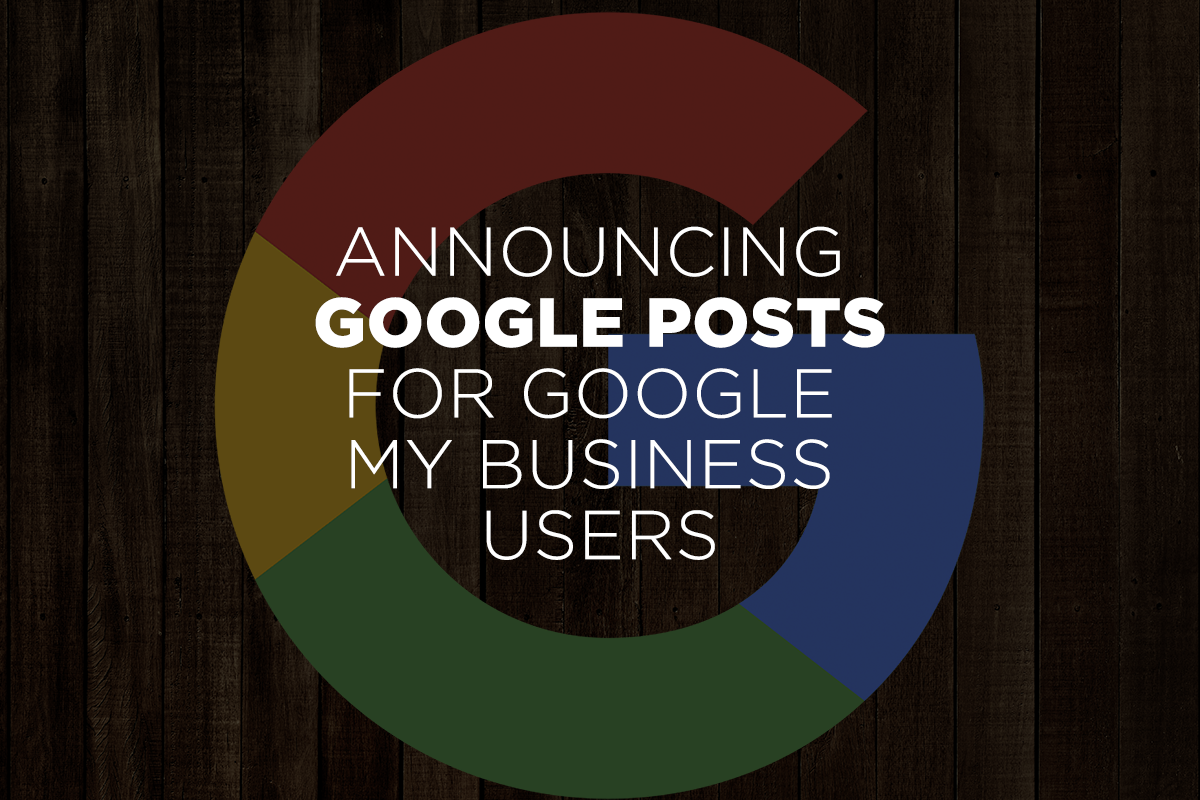 google posts for google my business users